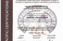 OHSAS 18001 2007